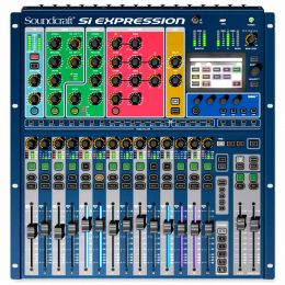 SiExpression1 - Mesa de Som / Mixer Digital 16 Canais 14 Auxiliares Si Expression 1 - Soundcraft