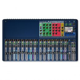 SiExpression3 - Mesa de Som / Mixer Digital 32 Canais 14 Auxiliares Si Expression 3 - Soundcraft