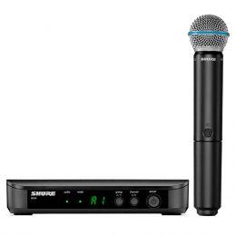 BLX24BETA58A - Microfone s/ Fio de M�o BLX 24 BETA 58A - Shure