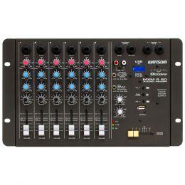 Mesa de Som 6 Canais P10 Desbalanceados c/ USB Play / 1 Auxliar - MXM 6 SD Ciclotron
