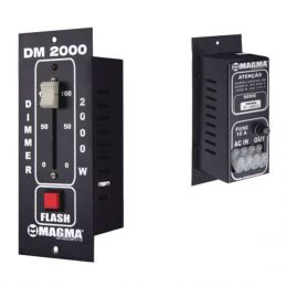 DM2000 - Dimmer Individual 1 Canal 2000W DM 2000 - Magma