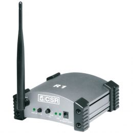 R1 - Link Receptor de �udio via Wireless R1 - CSR