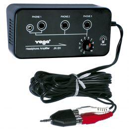 JK3H - Amplificador para 3 Fones JK 3H Yoga