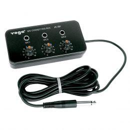 JK3M - Adaptador p/ 3 Microfones JK 3M - Yoga