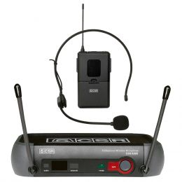 Microfone s/ Fio Headset Mini XLR / UHF - X 888 H CSR