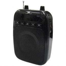 BQ850 - Kit Professor Portátil c/ Caixa + Microfone c/ Fio BQ 850 Preto - Boas