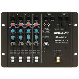 MXM4SA - Mesa de Som / Mixer 4 Canais MXM 4 SA - Ciclotron