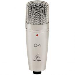 C1 - Microfone c/ Fio p/ Estúdio C1 - Behringer