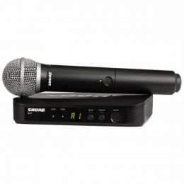 BLX24PG58 - Microfone s/ Fio de M�o BLX 24BR PG58 - Shure