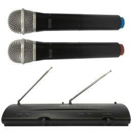 204H - Microfone s/ Fio de M�o Duplo VHF 204 H - CSR