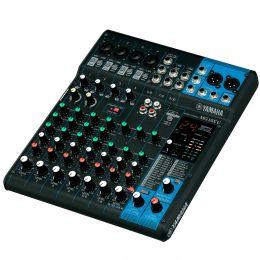 Mesa de Som 10 Canais (4 XLR Balanceados + 6 P10 Desbalanceados) c/ USB / Efeito / Phantom / 1 Auxiliar - MG 10 X U Yamaha