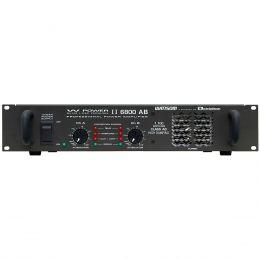 WPOWER6800 - Amplificador Estéreo 2 Canais 1700W W POWER 6800 - Ciclotron