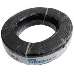 Cabo Emborrachado Paralelo PP 2x1,5mm (Rolo de 100 Metros) p/ Caixas de Som - Tecniforte
