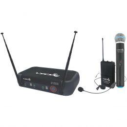 Microfone s/ Fio Mão Duplo / Headset e Lapela - VH 202 PRO MHL Lyco