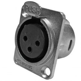 Conector XLR F�mea Painel WC 1023 Wireconex