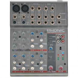 AM105FX - Mesa de Som / Mixer 10 Canais AM 105 FX - Phonic