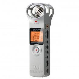 H1 - Gravador Digital de �udio Prata H 1 - Zoom