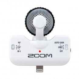 Microfone p/ iPhone e iPad iQ5 ( Branco ) Zoom