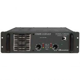 Dynamic12000 - Amplificador Estéreo 2 Canais 3000W Dynamic 12000 - Ciclotron