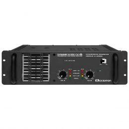 Dynamic8000 - Amplificador Estéreo 2 Canais 1000W Dynamic 8000 - Ciclotron