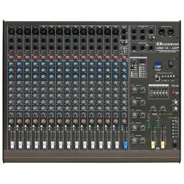 Mesa de Som 16 Canais Balanceados (14 XLR + 2 P10) c/ USB Play / Efeito / Phantom / 6 Auxiliares - CSM 16 A 6 F Ciclotron