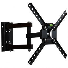 Suporte de Parede Tri-Articulado p/ TV 10 a 55 Pol LCD / LED / Plasma / 3D - SBRP 140 Brasforma