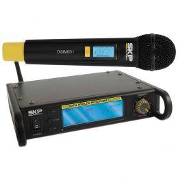 DigimodI - Microfone s/ Fio de Mão UHF Digimod I - SKP