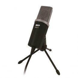 Podcast100 - Microfone c/ Fio p/ Est�dio P2 Podcast 100 - SKP