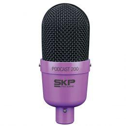 Podcast200 - Microfone c/ Fio p/ Est�dio P2 Podcast 200 - SKP
