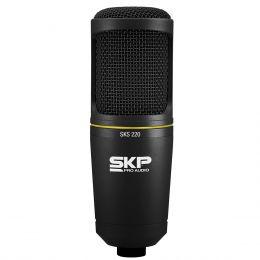 SKS220 - Microfone c/ Fio p/ Est�dio SKS 220 - SKP