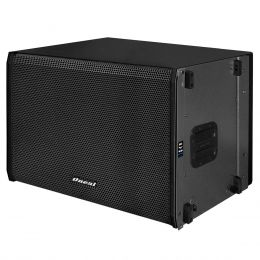 OLS2015 - Subwoofer Ativo Line Array 1200W OLS 2015 Preto - Oneal