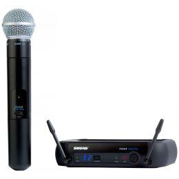 PGXD24BRSM58 - Microfone s/ Fio de M�o PGXD 24BR SM58 - Shure