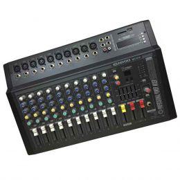 MA1030 - Mesa de Som / Mixer Amplificado 400W 10 Canais MA 1030 - Soundvoice
