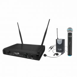 Microfone s/ Fio Mão, Headset, Lapela e Instrumento UHF UH 06 MHLI - LYCO