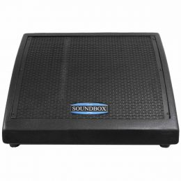 MS12 - Monitor Passivo 250W MS 12 Preto - SoundBox