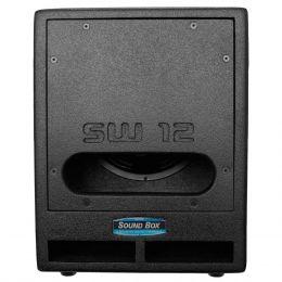 SW12 - Subwoofer Passivo 300W SW 12 Preto - SoundBox