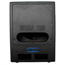 SW15 - Subwoofer Passivo 600W SW 15 Preto - SoundBox