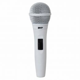 PRO92XLR - Microfone c/ Fio de Mão PRO 92 XLR Branco - SKP
