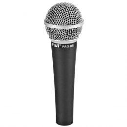 PROBR - Microfone c/ Fio de Mão PRO BR - TSI