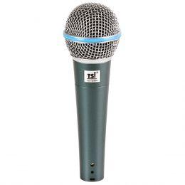 Microfone c/ Fio de Mão Dinâmico - 58 B TSI