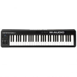 Teclado Controlador MIDI 61 Teclas c/ USB - Keystation 61 II M-Audio