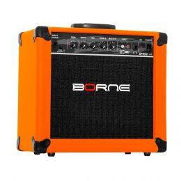 G70 - Amplificador Combo p/ Guitarra 20W Strike G 70 Laranja - Borne