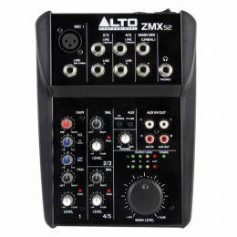 Mesa de Som / Mixer 5 Canais ZMX 52 - Alto