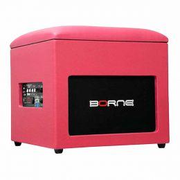 Caixa Ativa 60W c/ Bluetooth e USB Lounge Cube Rosa - Borne