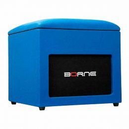 Caixa Passiva 60W Lounge Cube Azul - Borne