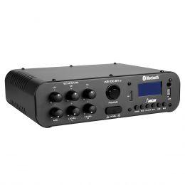 Amplificador Som Ambiente 100W 4 Ohms c/ USB / Bluetooth - AB 100 ST BT NCA