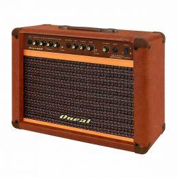 Cubo Ativo p/ Guitarra Fal 10 Pol 60W c/ Pedal - OCG 300 R Oneal