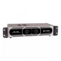 Amplificador de Potência 300W 4 OHMS PRO 1200 - LL AUDIO