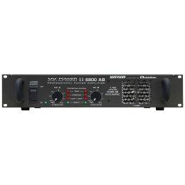 Amplificador de Potência 1700W RMS 4 Ohms - W POWER II 6800 AB Ciclotron