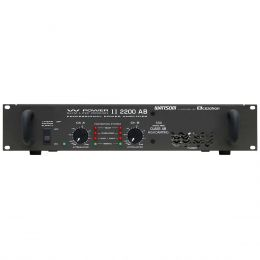 Amplificador Estéreo 2 Canais 550W RMS ( Total ) W POWER II 2200 AB - Ciclotron